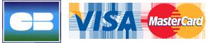Logo Cb - Visa - Master cart